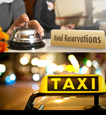 <i>'Relax ! you can book a taxi even at last moment at most of the Railway Stations' <br>